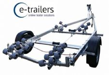 NEW PROLINE 1500kg 24 ROLLER SWING BEAM BOAT TRAILER  18ft BOATS OR 6.2m RIBS